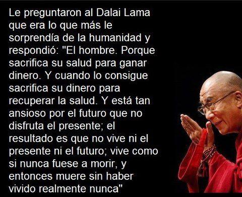 Las Palabras Del Dalai Lama