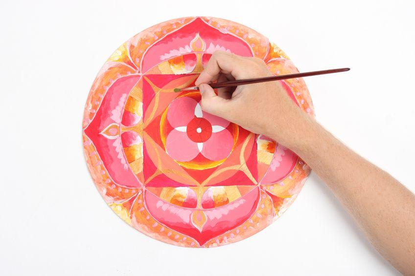 Benefíciate Pintando Mandalas