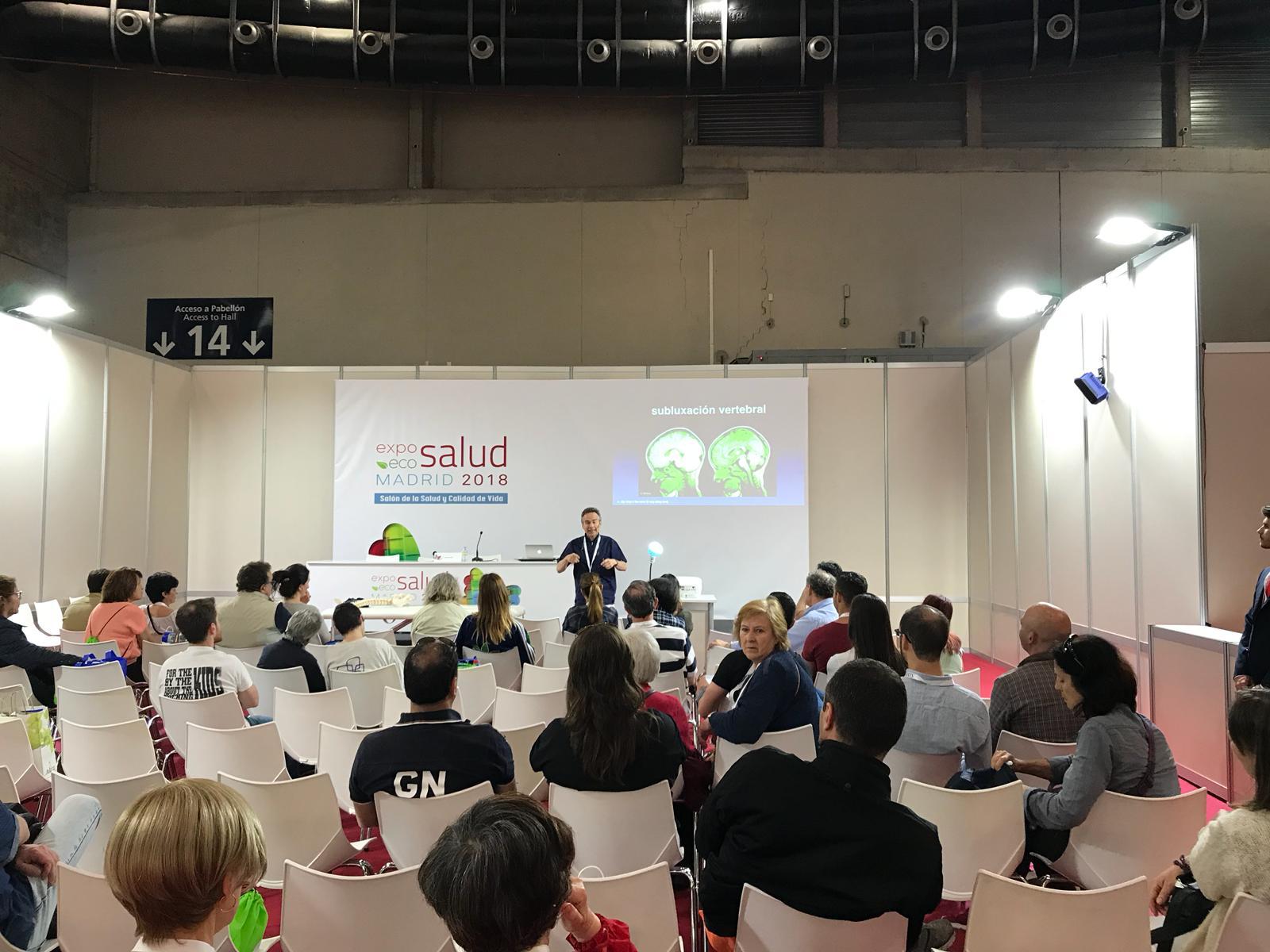 Expo Eco Salud: Quiropráctica Es Mimar A Tu Cerebro
