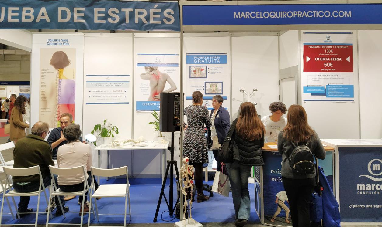 Marcelo Quiropráctico En Biocultura Madrid 2019